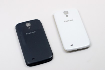 The official Samsung Galaxy S4 Flip Cover cases.