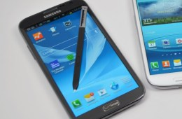 The Galaxy Note 3 design remains a mystery at this point.
