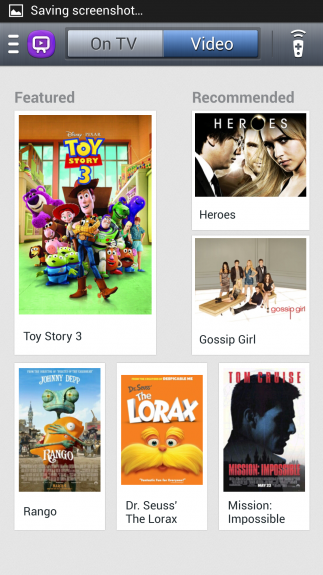 Searching for movies to rent or own on-demand through Watch On