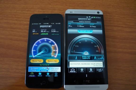 Verizon Sprint 4G LTE test 1