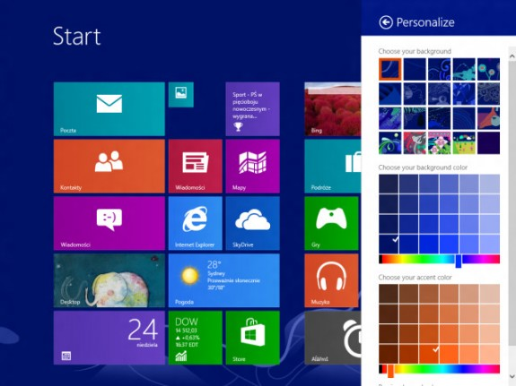 The updated Start Screen rumored to be coming in Windows 8.1