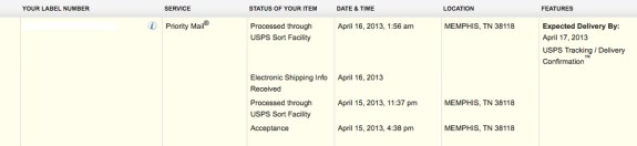 AT&T HTC One orders will arrive as early as tomorrow.