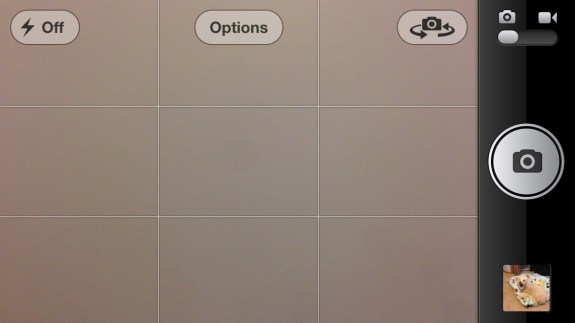 Turn on the grid mode to align photos better.