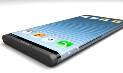 This iPhone 6 concept shows a wrap around display based on an Apple patent.