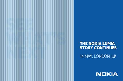 The invitation to Nokia's May 14th London event.