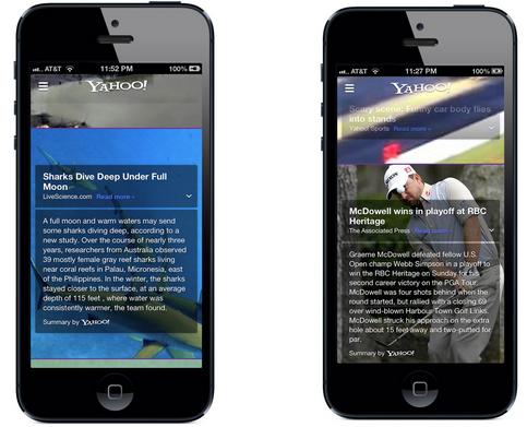 new_Yahoo_iPhone_app
