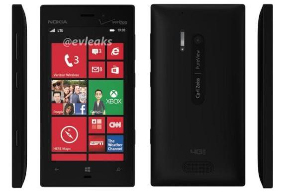 Leaked photos of theNokia Lumia 928