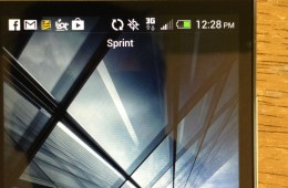 The HTC One is having some trouble pulling in a 4G LTE signal in pre-launch Sprint LTE markets, like in San Francisco, California.