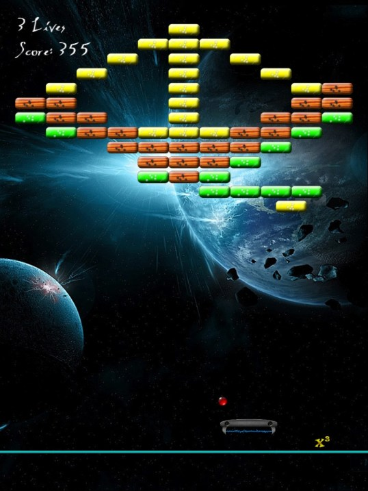 ultimate arkanoid breakout clone