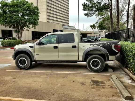 Raptor Parked