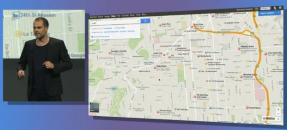 Maps is the UI for the new desktop release of Google Maps