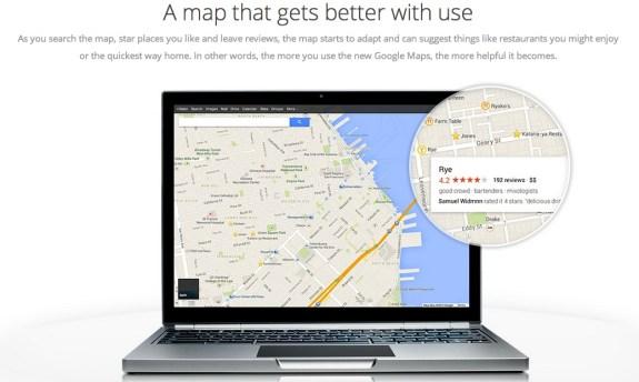 Google Maps UI overhaul