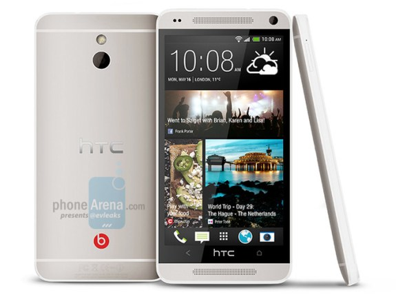 This is thought to be the HTC One Mini or HTC M4.