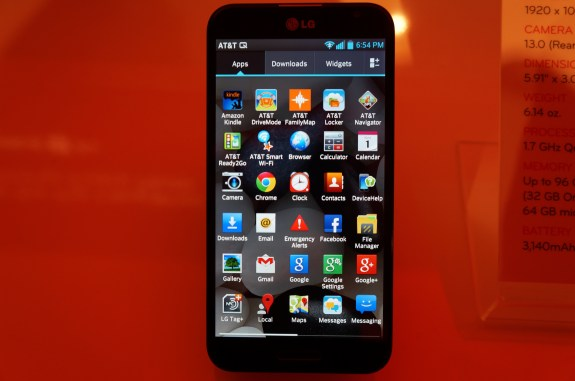The Optimus G Pro is a solid Galaxy Note competitor.