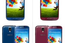 The Samsung Galaxy S4 will arrive in four new colors this summer, possible one will be part of the Galaxy S4 Nexus program.