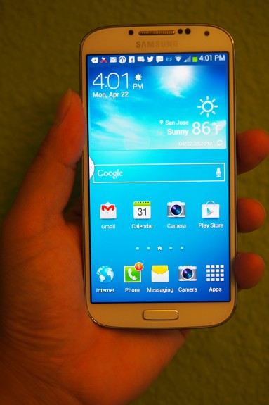 The Galaxy S4 Nexus will likely have a 5-inch display.