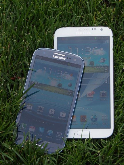 The Samsung Galaxy Note 3 could feature an even bigger display.