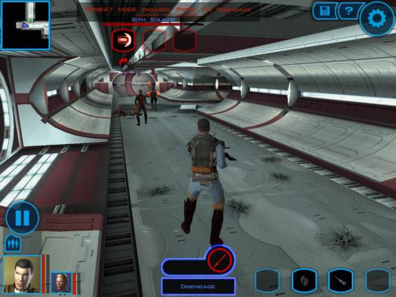 Star Wars KOTOR iPad