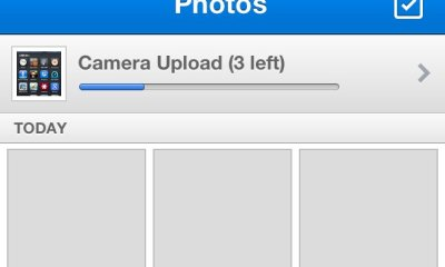 iOS Dropbox Camera Upload