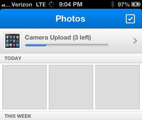 iOS Dropbox Camera Upload