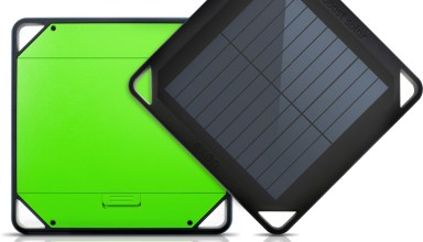 The Eton BoostSolar is a solar charger with a 5,000 mAh battery.