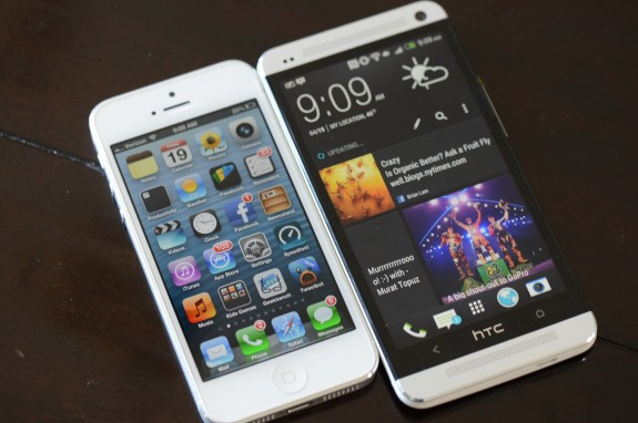 The HTC One Mini will likely be just a bit bigger than the iPhone 5.