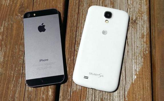 The iPhone 5S will compete with the Samsung Galaxy S4, which features a bigger display and a newer design.