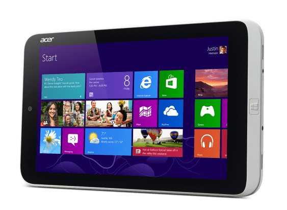 Acer Iconia W3-810_Win8