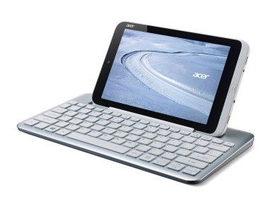 Acer W3 8-inch Windows tablet with keyboard