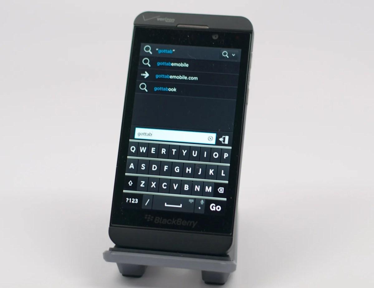 User manual for blackberry z10