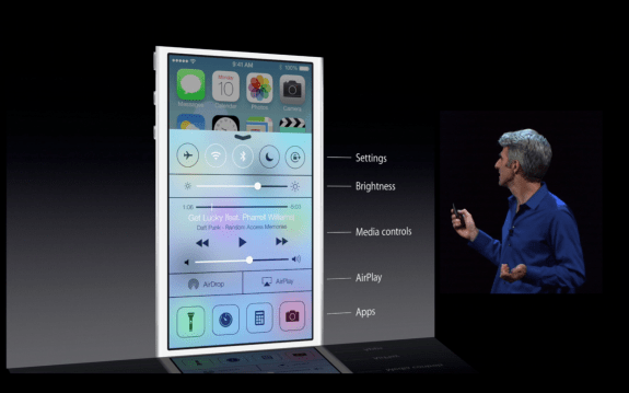Control Center for iOS 7 offers more access to common iPhone controls.