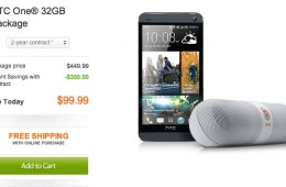 Save $300 with this HTC ON package deal.