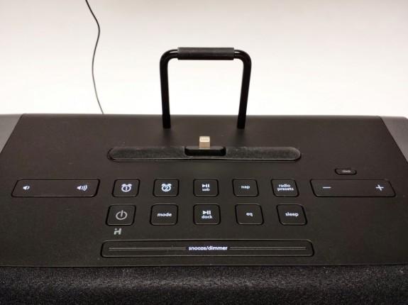 ihome idl45 controls top