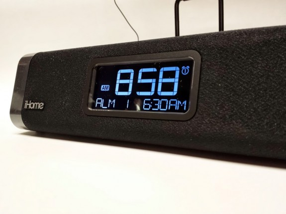ihome idl45 clock display
