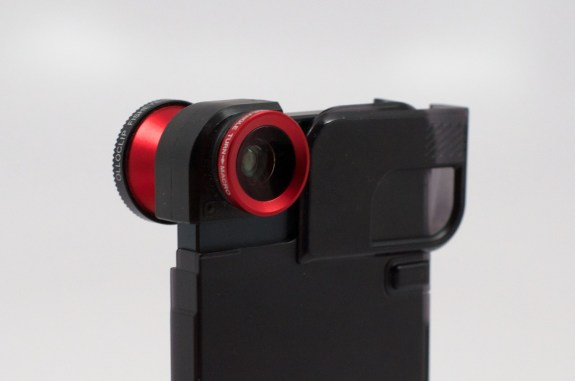 The OlloClip, Quick-Flip iPhone 5 case and 3-in-1 lens.