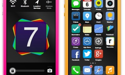 An interactive iOS 7 and iPhone 5S concept lets users play with a new iPhone and new iOS.