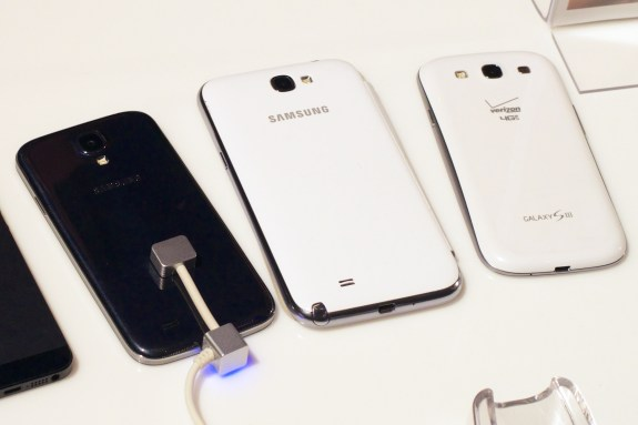 The Samsung Galaxy Note 3 will join a big Galaxy lineup.