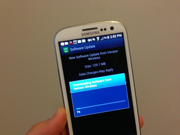 The Samsung Galaxy S3 Premium Update has finally hit AT&T.