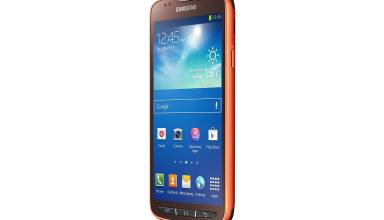 The Samsung Galaxy S4 Active is water resistant to 1 meter for 30 minutes.
