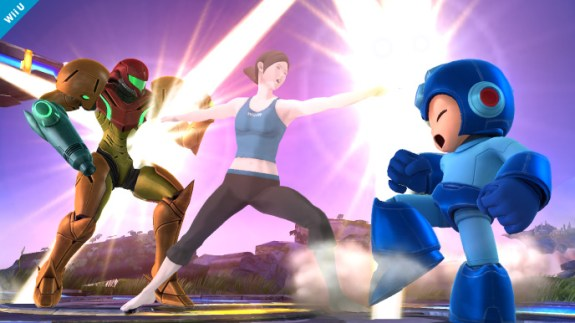 Super Smash Bros. Wii Fit and Mega Man