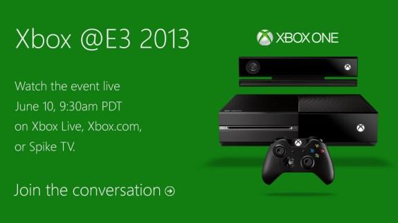 Xbox One E3 press conference