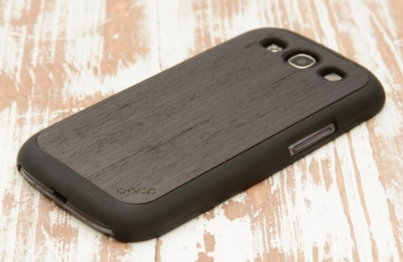 carved case reconstituted ebony