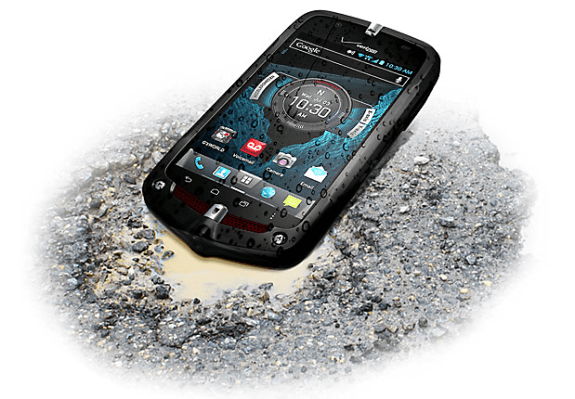 The Casio g'Zone Commando 4G LTE delivers a rugged smartphone experience on Verizon.