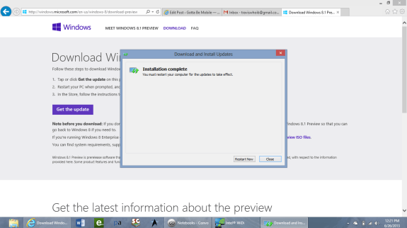 get windows 8.1 now 3