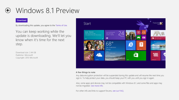 get windows 8.1 now 5