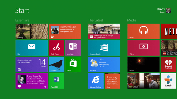 how to search windows 8 1