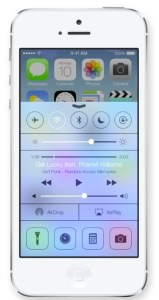 Control Center in iOS 7 replicates some jailbreak features and makes it easier to change settings.