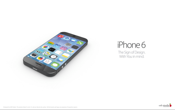 iPhone 6 Concept from iOS 7 - New Design