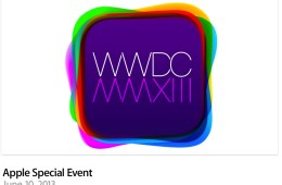 Apple is streaming the iOS 7 announcement and WWDC 2013 keynote to Mac, iPhone, iPad and iPod touch devices.