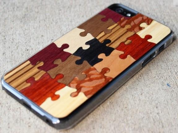 random puzzle carved case